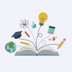book with other education items