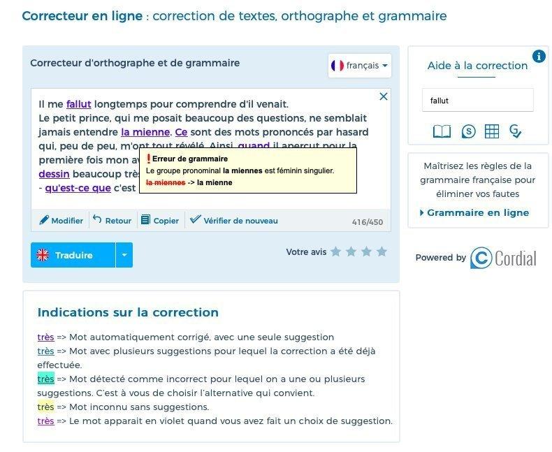 reverso french grammar checker