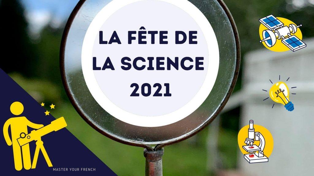 la fete de la science france 2021